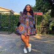 Gorgeous Ankara dresses with sneakers rocked by hot and classy ladies