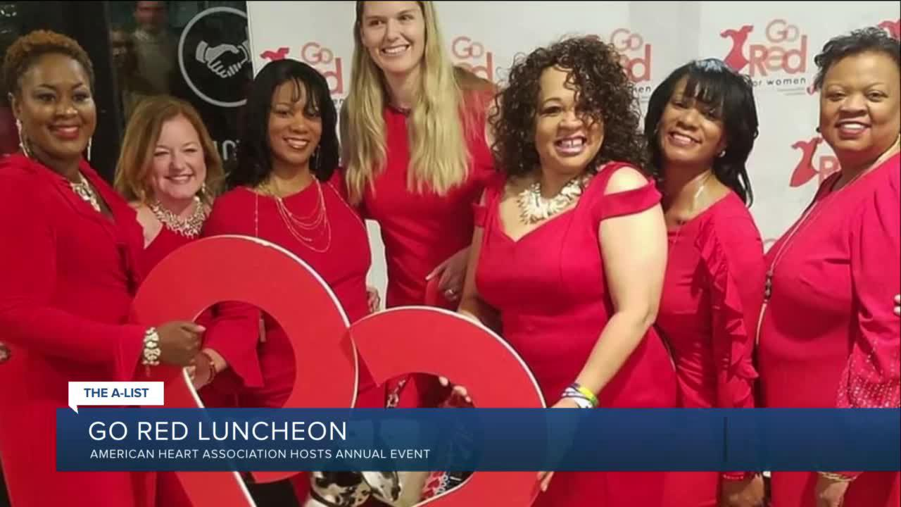'Don't ignore the signs;' Go Red for Women virtual luncheon will focus on awareness