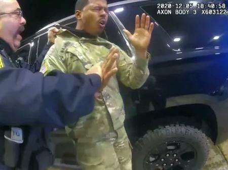 Days After A US Army Was Pepper Sprayed By Policemen, See What Happened To The Officers Responsible