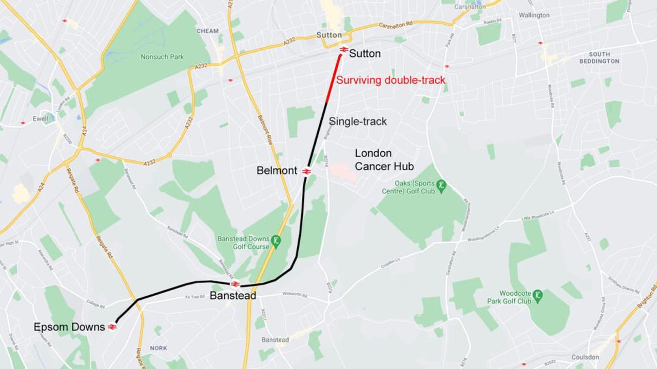 Bid submitted to upgrade Sutton to Epsom Downs rail link