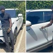 Kuami Eugene Receives A Brand Range Rover From Adonko Next Level Deal