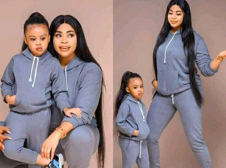 Check Out the Latest And Classy outfits For Mothers and Little Princess (Photos)