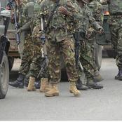 Average Salaries Of Kenya Defense Forces (KDF)