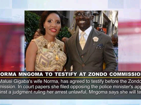 'This Is What Norma Ngoma Will Say About Malusi Gigaba At The State Capture Commission.