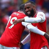 Alexander Lacazette and Pepe stuns Leicester