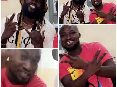 See What Happened When Adebayor Revisted Funny Face At The Hospital, Fans Are Glad Of Their Union