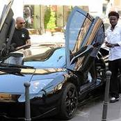 Nigerian Footballer With the most expensive cars in his garage