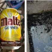 Don't kill yourself, beware of sugary things sold in the market. Fake Malta Guiness uncovered.