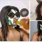 Check out what people do after drinking this alcohol brand