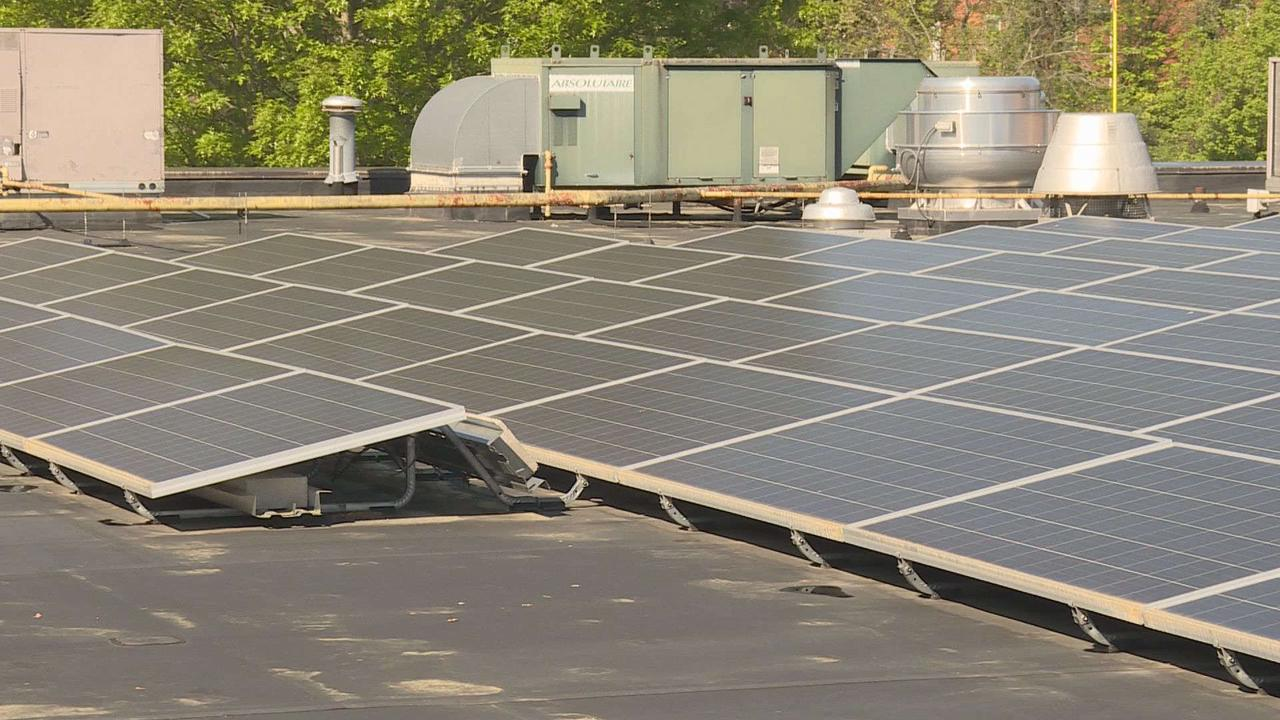 Eleven Knox County Schools save money using solar panels