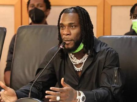 Music : Burna Boy nominated for another big Award after winning Grammy Award (More details)