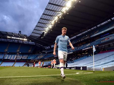 Kevin Of Manchester City Will Not Be Available For Arsenal Game At Ethiad