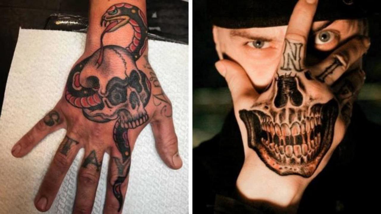 20 Frighteningly Cool Skeleton Hand Tattoo Designs   Opera News