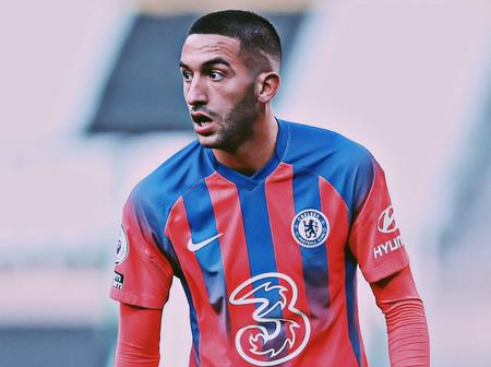 See why Chelsea are not treating Hakim Ziyech like they did for Eden Hazard