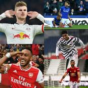 Players that have the best shot on target in premier league