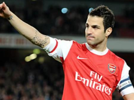 Remember Former Arsenal Captain Cesc Fabregas?  See His Recent Pictures (Photos)