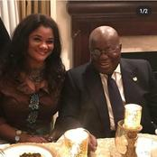 Video: African rich woman hosts Nana Akufo Addo for a dinner