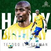Tebogo Langerman signed a new deal