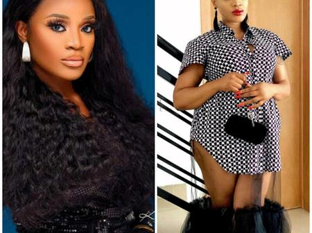 Uche Ogbodo Stuns In A Transparent Gown, Says