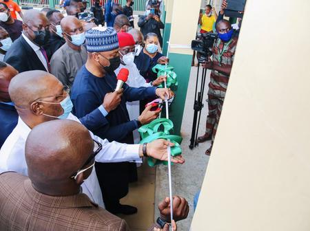 Bukola Saraki Commissions Projects In Asaba, Delta State (Photos)