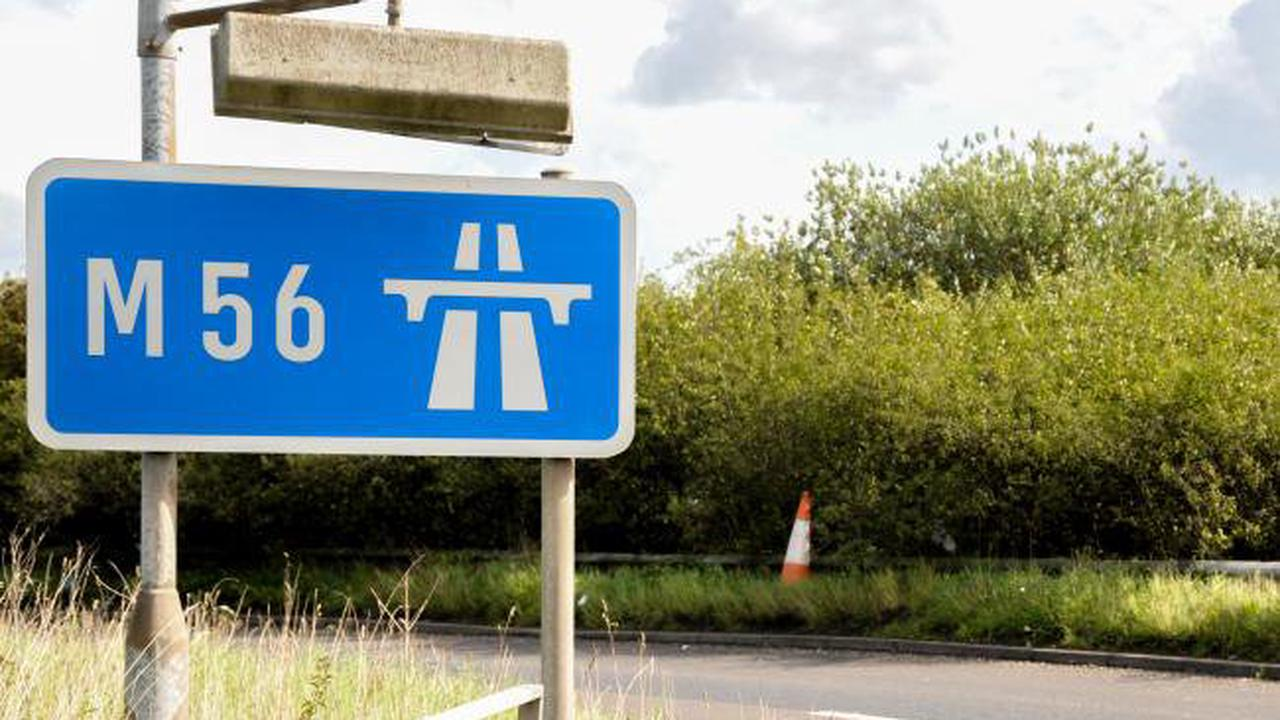 Collision on M56 causes severe traffic disruption