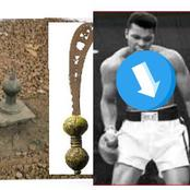 See The Sword In Africa That Can't Be Removed By Any Human, Muhammad Ali Tried To Remove It & Failed
