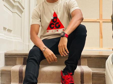 12 handsome pictures of French footballer, Kylian Mbappe