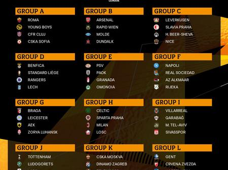 UEFA Europa League draw and Europa best player award