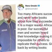 The Major Reason Africa Is Poor- Reno Omokri