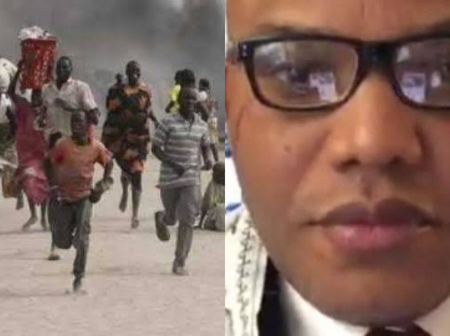 Today's Headlines: Gunmen Open Fire On Traders In A Market In Benue, Nnamdi Kanu Sends A Message.