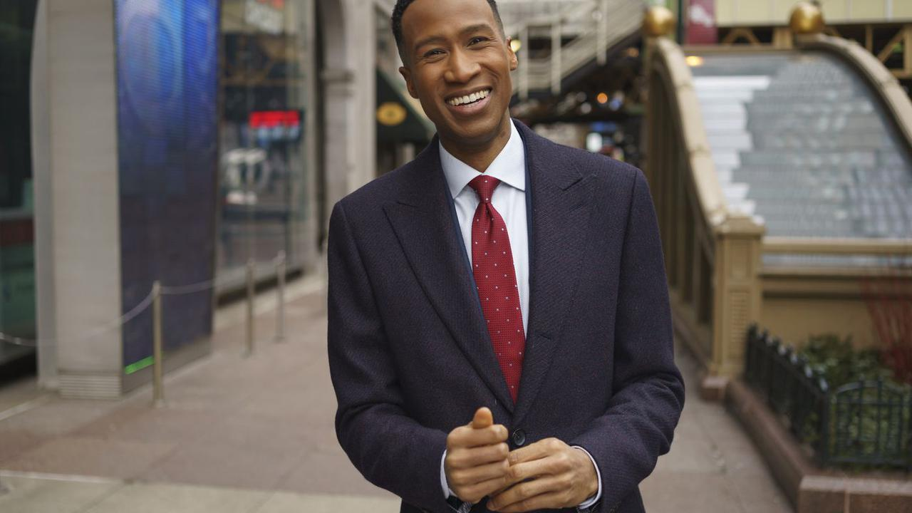 Ahead of his annual New Year's Eve routine, Terrell Brown talks performing many duties at Channel 7