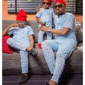Lovely Father And Child's Matching Outfits