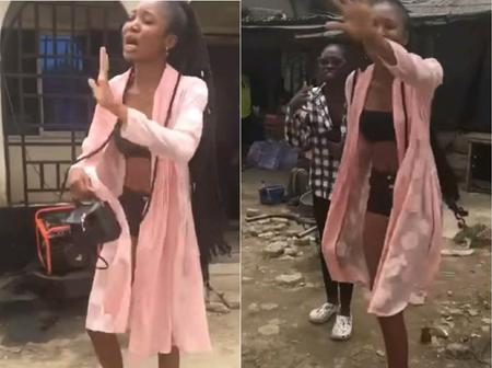Look What Pastor Did To This Girl In Public Because Of Her Dressing