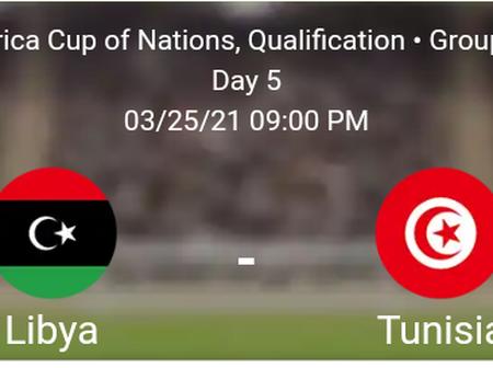 Libya vs Tunisia Statistics