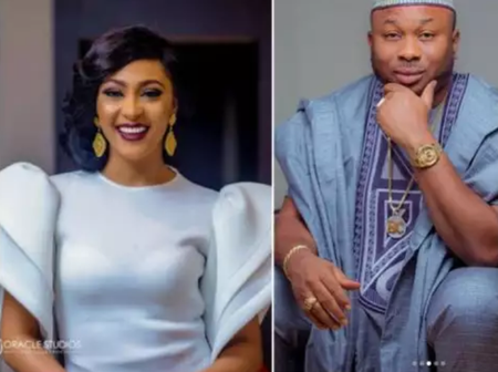 Please Marry Rosy Meurer -Fans Beg Tonto Dikeh Ex-Husband Churchill