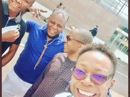 Charly Boy & Crew Land In Ivory Coast, Compares Nigeria With Them