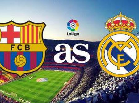 Update on El clasico prediction/preview/ analysis