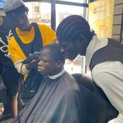 Voici la photo de Dougoutigui avec son frère chez le coiffeur qui fascine ce mercredi