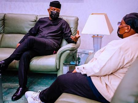 After Teni Met With Osinbajo In Aso Rock, Check What She Said That Got People Talking Online(photos)
