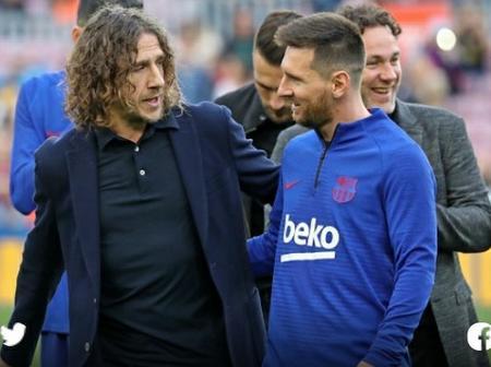 Puyol reveals Lionel Messi conversation