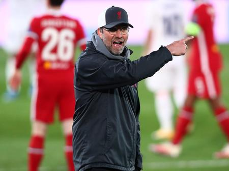 Jurgen Klopp reveals and addresses the reason behind the run of poor results at Anfield stadium