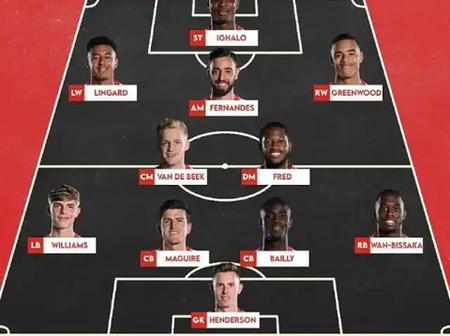 Ighalo In, Lingard In, Van De Beek In - Manchester Predicted XI Against Brighton In The Carabao Cup