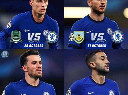 Chelsea's Next Four Matches In Different Competitions