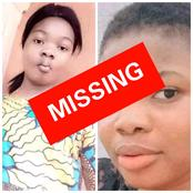 Another Beautiful Girl Is Missing; Please Report To Any Nearest Police Station if You See Her
