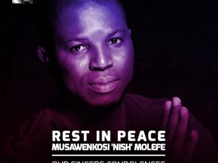 Rest in peace Musawenkosi Molefe has died.