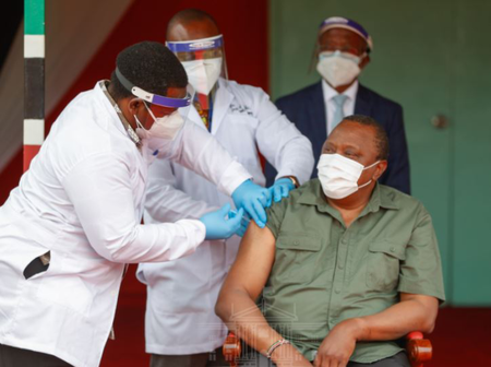 Leading by example? List of Kenya's Prominent People who have Taken the Covid 19 Vaccine.