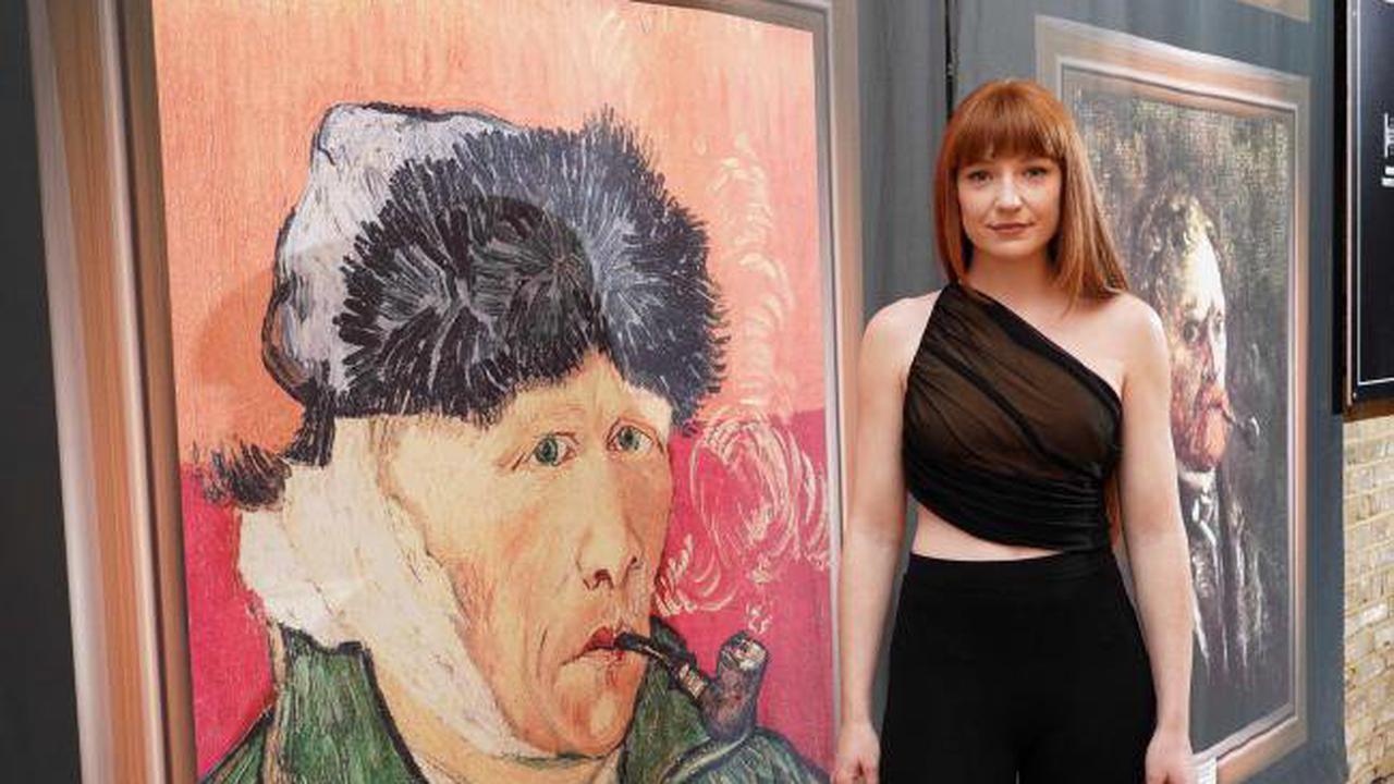 Nicola Roberts and Ashley Roberts among stars pictured at Van Gogh exhibition