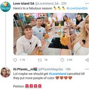 Mzansi fans very angry at the whitewash love island SA cast and celebs are disappointed too