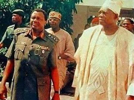 Photos Of MKO Abiola With Abacha, IBB And Obasanjo