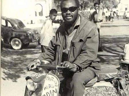 Ajala the man who traveled all over the world on a moped